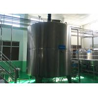 Wholesale Sanitary Stainless Steel Mixing Tanks Single Layer / Double Layer For Pharmaceutical from china suppliers