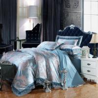 Wholesale bedding set 100%cotton Jacquard tribute silk tencel satin duvet cover bedsheet pillowcase brand bed cover quilt cover be from china suppliers