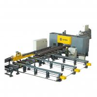 China High Speed CNC Beam Drilling and Sawing Machine Line Steel Structure Industry for sale