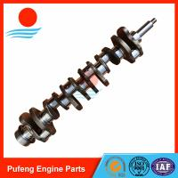 Wholesale Mitsubishi 6D34 forged crankshaft ME300086 for KOBELCO excavator SK200-6 SK230-6E SK350-6 from china suppliers