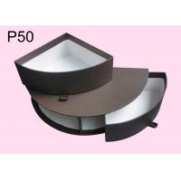 Wholesale P50 Half Round Chocolate Boxes, Offset Printing Gift Packaging Boxes, Paper Chocolate Boxes, Brown Chocolate Boxes from china suppliers