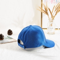 Wholesale Terry Rubber Patch Curve Brim Embroidered Baseball Caps from china suppliers