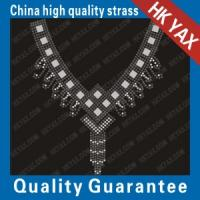 Wholesale D0929 neck-31 patterns transfer-neck design;hotfix motifs from china suppliers