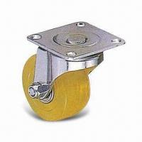 Wholesale Excellent PUP/TPR Furniture Caster with 23.5mm Wheel and 50mm Outside Diameter from china suppliers