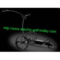 Wholesale Remote Stainless steel golf trolley wireless electric golf Trolley from china suppliers