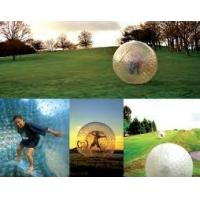 China 0.8mm / 1.0mm PVC Inflatable Zorb Ball, inflatable water walking ball for Zorb Ramp on sale