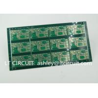 Quality FR4 Groove Multilayer PCB Green Solder Mask With Immersion Gold Plating for sale