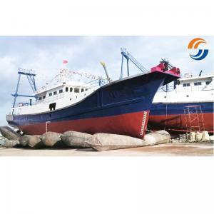 Landing Docking Marine Rubber Airbag High Tensile Strength ISO14409 Certification