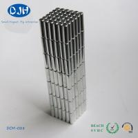 Power Rare Earth Permanent Neodymium Cylinder Magnets N35 ROHS Certification
