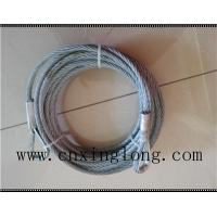Buy cheap Sell wire rope sling with thimble in both ends from wholesalers