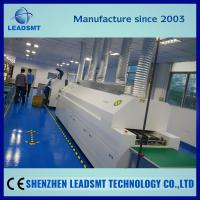 Wholesale leadsmt smt reflow oven model rf8810 reflow soldering machine with mesh and rail from china suppliers