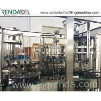 China Drink Tea Wine Beer Filling Machine Unit , POP Can Filling Machine for Sale on sale