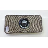 Quality Silver iPhone4 Cell Phone Case Bling Shining Crystal Anti - slip For Girl for sale