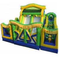 China Hot selling kids inflatable outdoor obstacle course for sale
