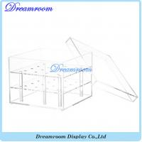 Wholesale Luxury Transparent Acrylic Lid Flower Box Wholesale Acrylic Box from china suppliers
