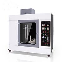 Wholesale Plastic Horizontal Flammability Testing Equipment , High Preciseness Vertical Burn Test from china suppliers