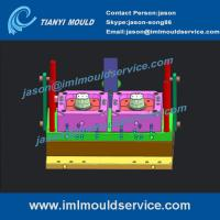 Wholesale thin-walled round bucket mould supplier,thinwall injection mould plastic container designs from china suppliers