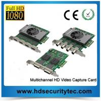 Best 2 Channels / 4 Channels HD Video Capture Card for HD Video to PCI-e wholesale