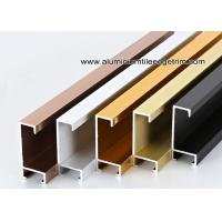 Wholesale Metal Type Aluminium Wall Picture Frame Mouldings With Brushed Sides from china suppliers