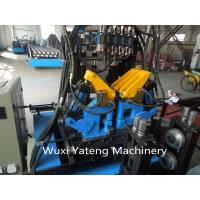 Best Interchangeable C / Z Purlin Cold Roll Forming Machine / Equipment With Customerized Voltage wholesale