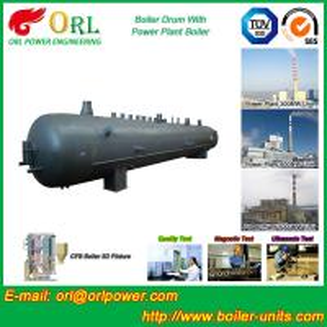 Best 10 Ton hydrogen boiler mud drum ORL Power ASME certification manufacturer wholesale