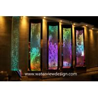 China NEW programmable water bubble wall screen room divider for hotel resturant for sale