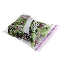 Transparent OPP Plastic Vegetables Packaging Bags with Zipper for sale