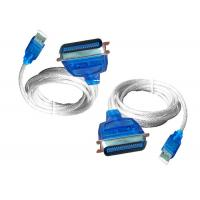 Wholesale CH340S IC Chipset USB Adapter Cable , Printer Adapter Calbe 180CM Length from china suppliers