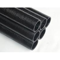 Wholesale Quality carbon fiber tubes with 3K twill weave surface finished from china suppliers