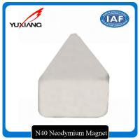 Industrial Triangle Neodymium Magnet Passivation Temporary Surface For Toys for sale