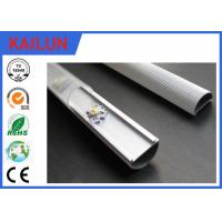Quality Half Round LED Strip Aluminium Extrusion Cover Bar With 6063 6061 T8 Material for sale