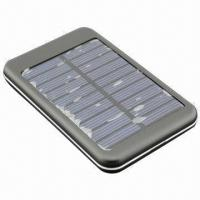 Wholesale 5000mAh Portable Power Bank with Solar Charge Function from china suppliers