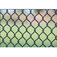 Wholesale Pvc Coated Chain Link Fence With Barbed Wire On top Size Customized from china suppliers