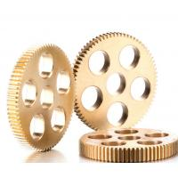 Wholesale Aluminum Bronze / Brass Straight Spur Gear Casting Hobbing Spiral Tooth Profile from china suppliers