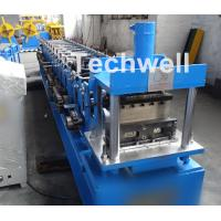 Buy cheap Light Steel Stud Roll Forming Machine , 5.5 Kw Industrial Metal Roll Forming from wholesalers
