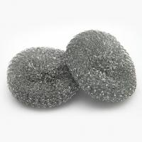 Buy cheap Eco-Friendly galvanized steel wire mesh scourer cleaning for kitchen from wholesalers