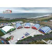 Buy cheap 40m Width Polygon Marquee With Colorful Roof Top And Sidewalls For Beer Festival from wholesalers