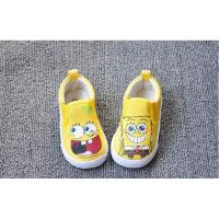 Wholesale spongeBob baby canvas shoes, baby shoes, child shoes, sandal from china suppliers