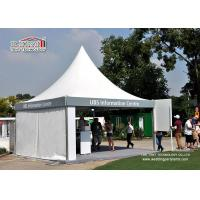 Wholesale Cream White High Peak Aluminum Tent With PVC Sidewall For Exhibition For Sale from china suppliers