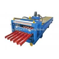 Buy cheap Customized GI / PPGI / AL Steel Roof Step Tile Making Machine 8.5 * 1.5 * 1.2m from wholesalers