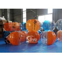Wholesale Top quality human inflatable bubble football for kids N adults outdoor interaction sports games from china suppliers