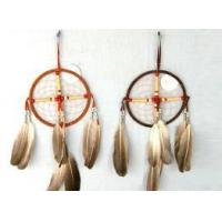 Wholesale Dream Catcher, Made of Feather and Metal Ring, Suitable for Promotional Gifts from china suppliers