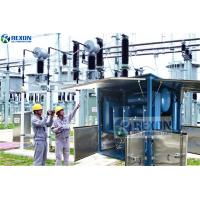 China Fully Enclosed Type Online Working Vacuum Transformer Oil Purification Machine for sale