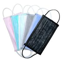 Wholesale Elastic Ear Loop 3 Ply Disposable Face Mask Fashionable No Irritation from china suppliers