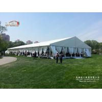 Best Luxury Design White Color Roof Tent, A-Shape Aluminum Structure Wedding Tent For Sale wholesale