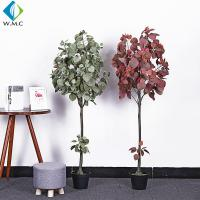 China Minimalist Style Artificial Bonsai Tree , Artificial Apple Tree For Living Room for sale