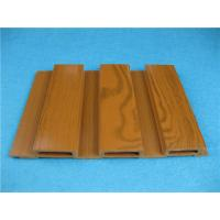 China Wood Plastic Composite Wall Cladding Beech Colorful WPC Panels CE / ISO on sale