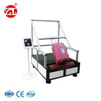Wholesale Luggage Bumps Wear Testing Instrument With Suitcase Fixed Seat Adjustment from china suppliers