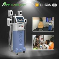 Wholesale 4 handles fat freezing Cryolipolysis cold body sculpting machine from china suppliers