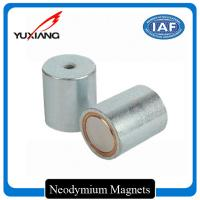 Deep Pot Holding Neodymium Iron Boron Magnets , Small Neodymium Magnets Custom for sale